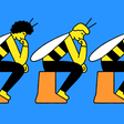 If you want to tackle big problems, try thinking like a bee