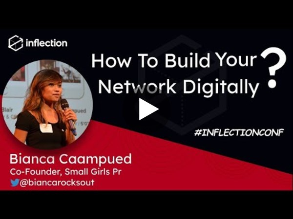 How to build your network Digitally? | Bianca Caampued | Co-Founder: Small Girls Pr