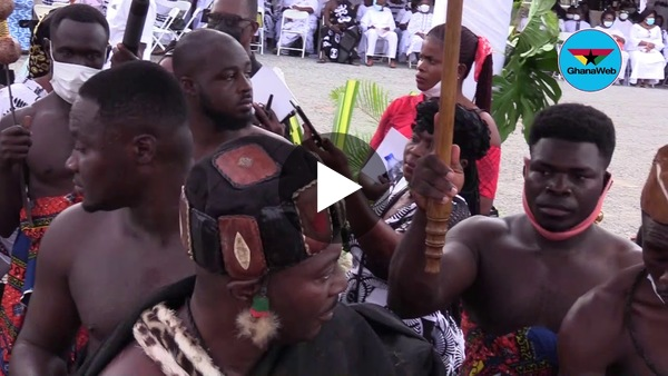 Rich display of Ewe, Ashanti and Nigerian culture at Rawlings' mother's funeral