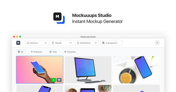 Mockuuups Studio - Instant Mockup Generator