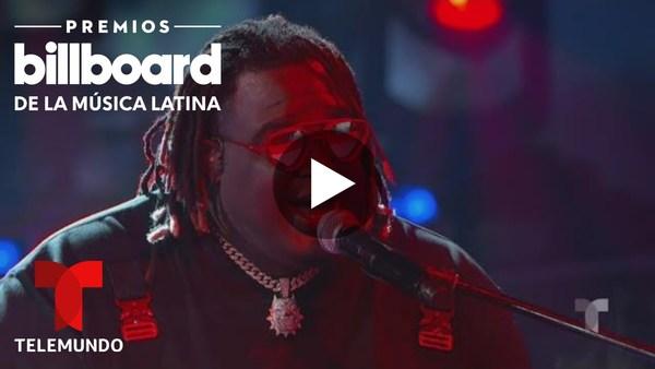 Sech interpreta 'Relación' en los Premios Billboard 2020 | Premios Billboard 2020 | Entretenimiento