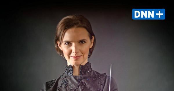 Oksana Lyniv dirigierte das Hochschulsinfonieorchester Dresden