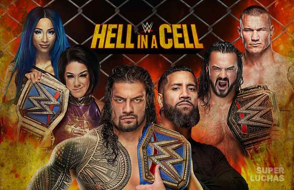 WWE HELL IN A CELL 2020 | Resultados en vivo | Roman Reigns vs. Jey Uso