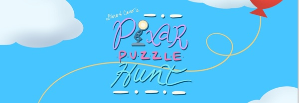 Daro + Caro's Pixar Puzzle Hunt