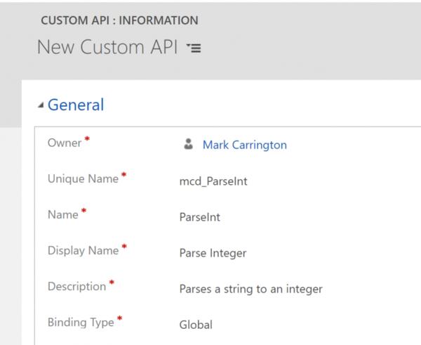 CDS Custom APIs - Mark Carrington