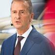 VW-Chef Diess fordert Bekenntnis der Autobranche zu schärferen Klimazielen