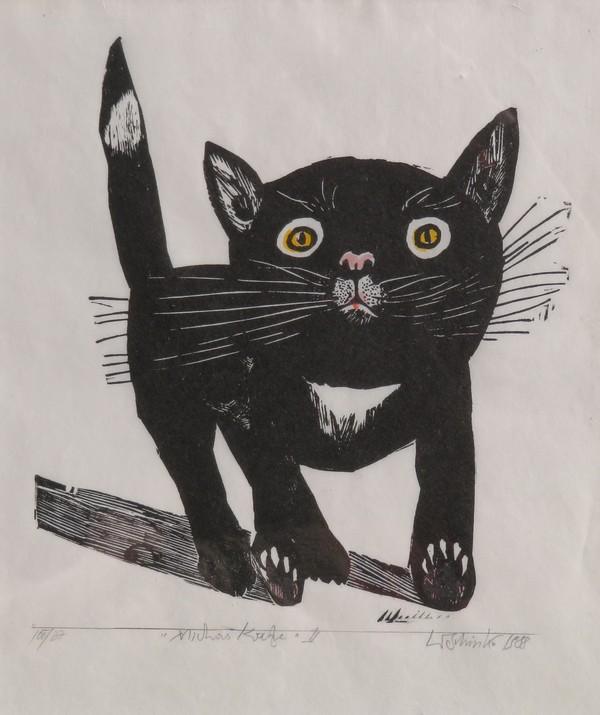 Die Katze als Urmotiv: Michakatze von Werner Schinko.(Foto: privat)