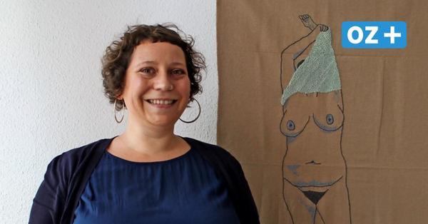 Nackte Kunst: Wie Anna Rose aus Rostock dazu kam, Akte zu sticken
