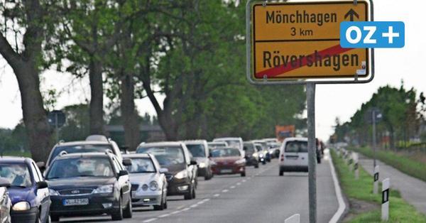 Weiter Stau auf der B 105 bei Karls: Ortsumgehung Rövershagen nicht vor 2030