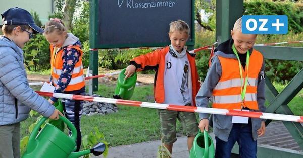 Lego, Graffiti und grünes Klassenzimmer: Das ist neu an der Sagarder Grundschule