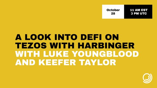 DeFi with Luke and Keefer on October 28th