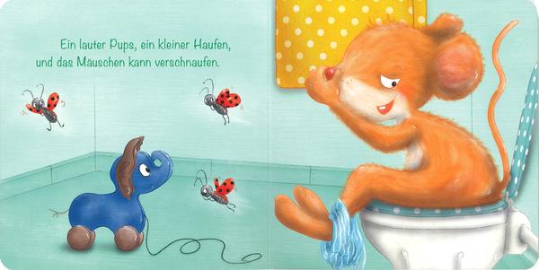 """Blick ins Buch """"Das Picobello Mäuschen"""". Verlag Baumhaus"""