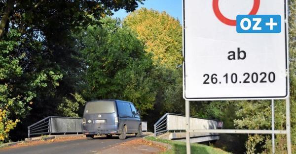 Börzower Brücke wird saniert: Vollsperrung der Straße nach Bernstorf