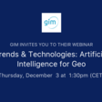 A.I. for Geo