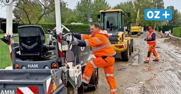 Bauarbeiten in Wittenhagen: Kabel nicht tief genug vergraben