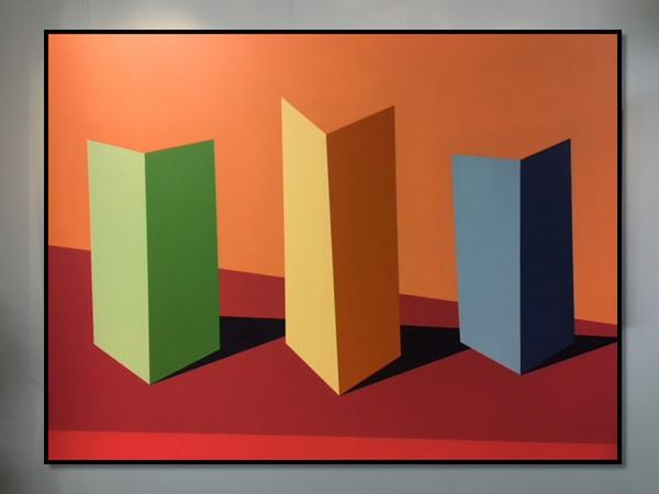 David Stein, Secrets and Lies, acrylic on canvas