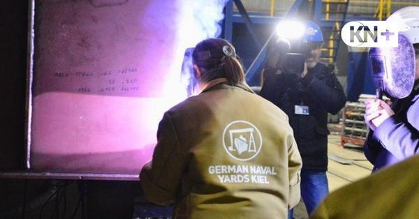 Kräftige Finanzspritze: Millionenhilfe für Werft German Naval Yards Kiel