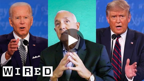 Former FBI Agent Breaks Down Political Body Language | WIRED