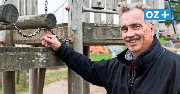 Schaukeln für die Sicherheit: Dieser Mann kontrolliert Rostocks Spielplätze