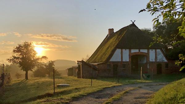 Malerisches Dorf Hoben an der Wismarbucht (Foto: H. Kuzina)