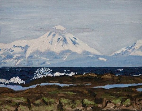 Glenda King | Mt. Baker (2020) | Available for Sale | Artsy