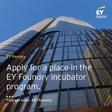 Applications for fintech, tax tech, regtech and legal tech incubator is OPEN!