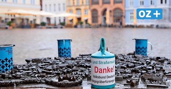 Spuren der Vergangenheit: Spendensammlung für Kriegsgräberfürsorge startet in Stralsund