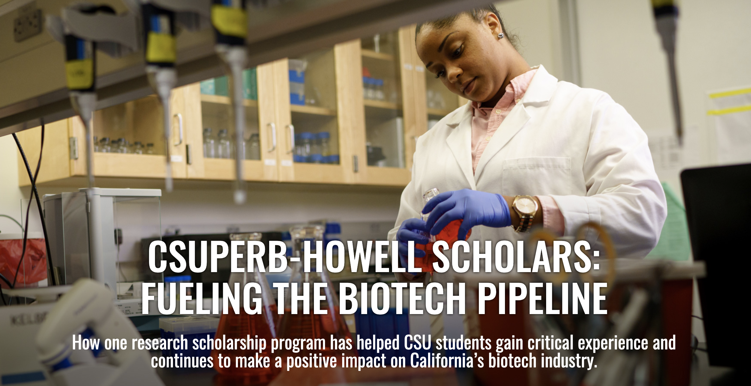 CSUPERB-Howell Research Scholarship program