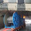 Vrachtwagen vast bij Ringvaartaquaduct