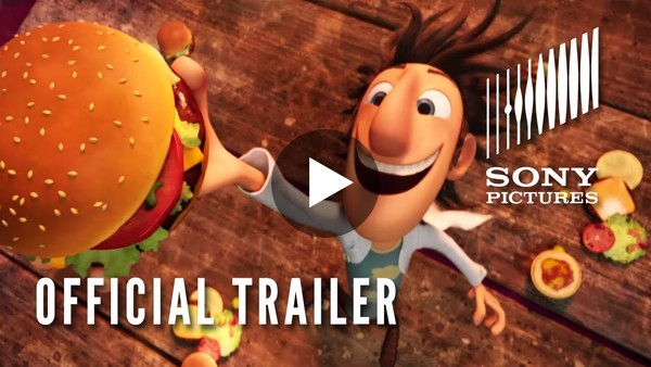 Cloudy With a Chance of Meatballs - Official Trailer #1