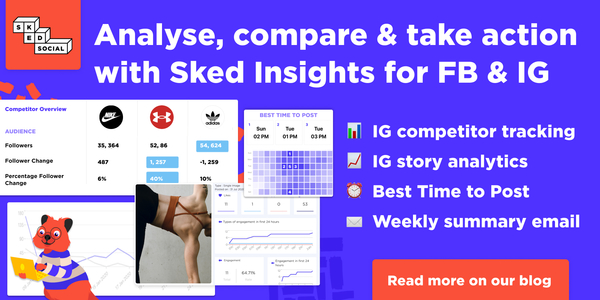 Make better social decisions with advanced IG & FB analytics