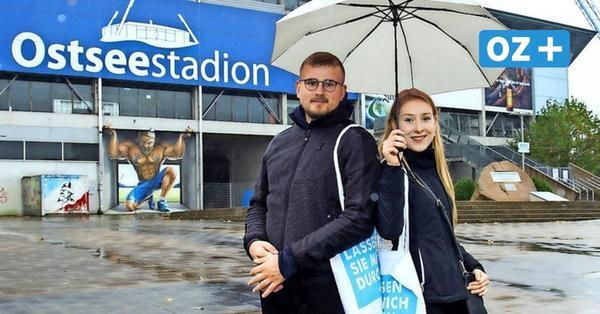 Universitätsmedizin Rostock begrüßt Erstsemester im Ostseestadion