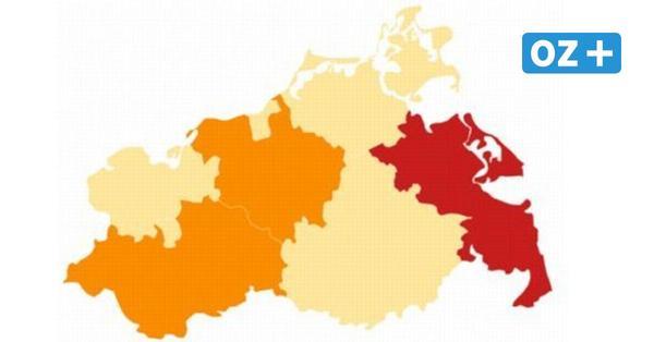 Corona in MV: So hoch ist der Inzidenzwert aktuell in den Städten und Landkreisen