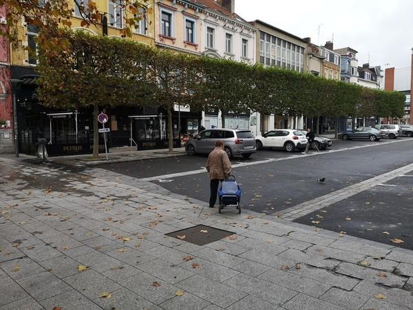Roubaix et Tourcoing, premier jour du confinement : ambiance et images - Lockdown: lege straten in Roubaix en Tourcoing