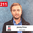 Just Go Grind Podcast: Jonny Price, Director of Fundraising at Wefunder, the Largest Regulation Crowdfunding Platform