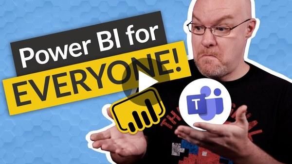 Enable Power BI in Microsoft Teams for EVERYONE!