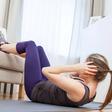 Für die Fitness, gegen den Stress: Vier Übungen für zu Hause
