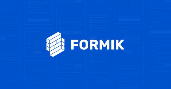 Formik 3 Alpha