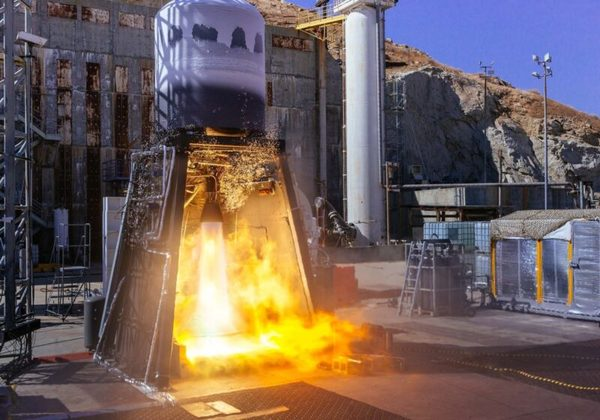 ABL Space Systems Performs Integrated Stage Test of RS1 Smallsat Launch Vehicle