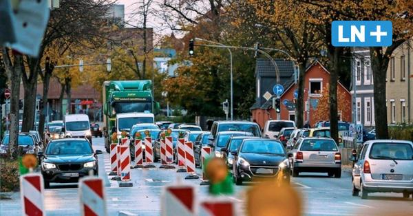 Baustelle in Lübeck: Ist in der Kronsforder Allee bald Schluss mit Stau?