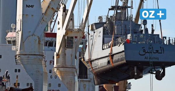 """Ägypten nimmt Wolgaster Werft neun Patrouillenboote ab – für Linke ist das """"skrupellos"""""""