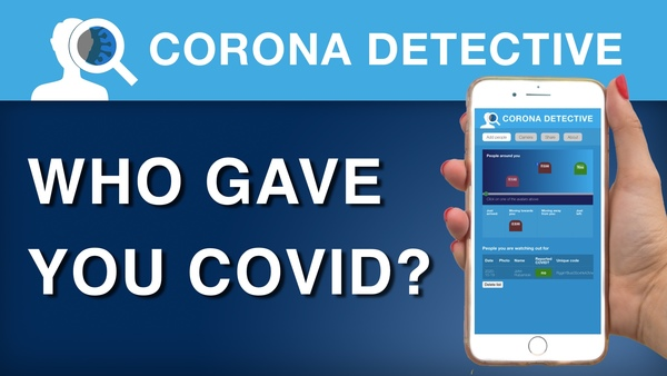 Corona Detective - Find out who gave you COVID19