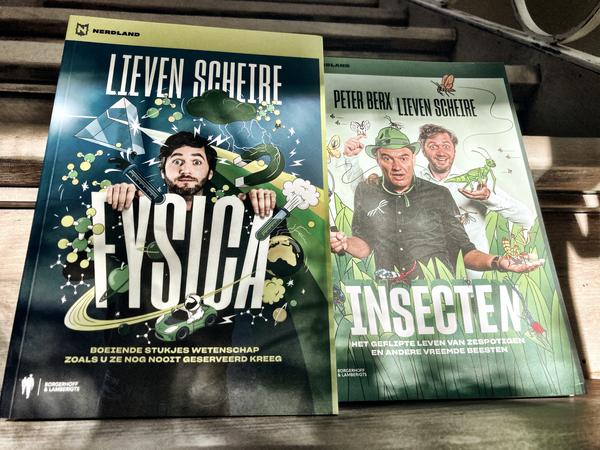 De nieuwe 'Fysica' en  'Insecten' met Peter Berx.