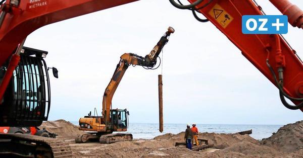 700 neue Buhnen: Nienhagen bekommt starken Wellenschutz