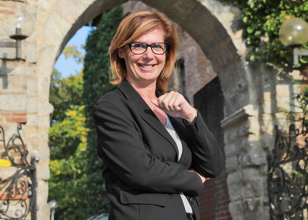 Martina Baumgärtner, Geschäftsführerin der Niederrhein Tourismus
