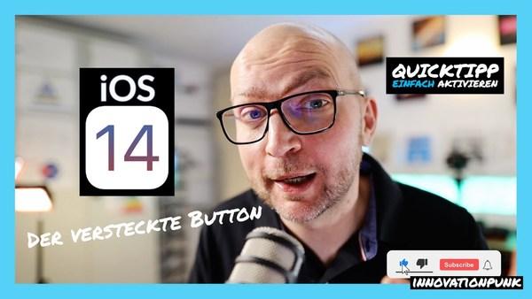 """Quicktipp - Das iPhone hat mit iOS 14 einen neuen """"Button"""" bekommen – so aktivierst Du ihn."""