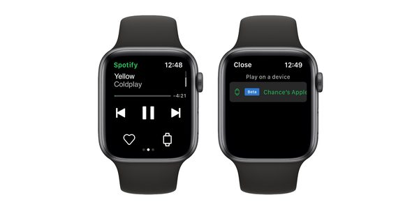 Wish Spotify streamed on Apple Watch? The time has arrived for many