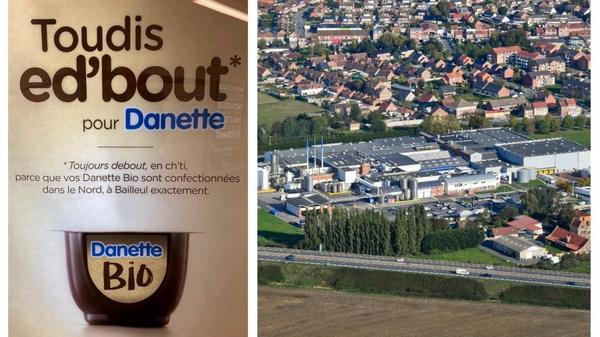 Bailleul : Danone fait de la pub en ch'ti à Paris - Danone gebruikt dialect Frans-Vlaanderen in Parijs