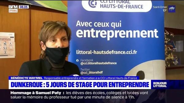 "La CCI Littoral Hauts-de-France va expérimenter son dispositif ""5 jours pour entreprendre"" à distance - Kamer van koophandel begeleidt ondernemers op afstand"