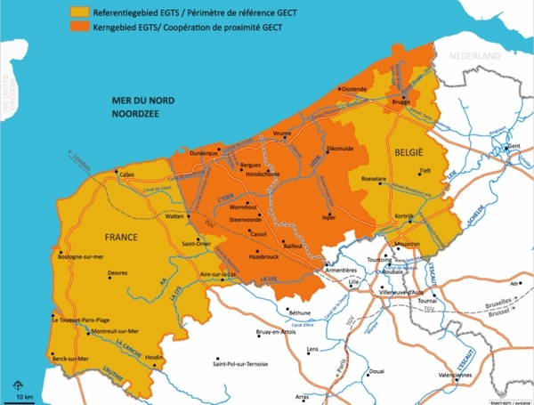 UPDATE - West-Vlaanderen/Flandre-Dunkerque-Côte d'Opale